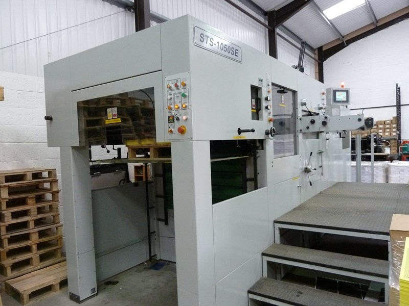SBL STS-1050SE Automatic Die Cutting and Creasing Platen