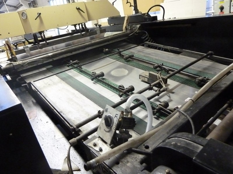 SPS Vitessa Silk Screen Cylinder Press