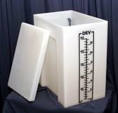 Developer Behälter für Filmentwicklungsmaschienen