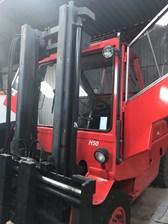 Linde H50d 5000 KG Stapler - Zinkenvertstellgerät, Standheizung, Vollkabine, restauriert, Duplex Mast, 6 Zylinder luftgkühlter 8 Tonnen Motor