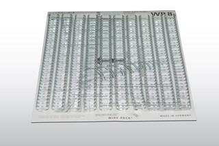 ERP 39120 Renz Drahtkammbindung, 14,3 mm, 3:1, silber matt