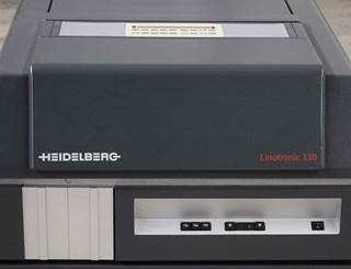 ERP49400  Heidelberg Linotronic 330