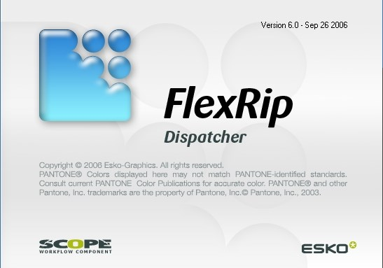 ERP 44987 FlexRip Dispatcher