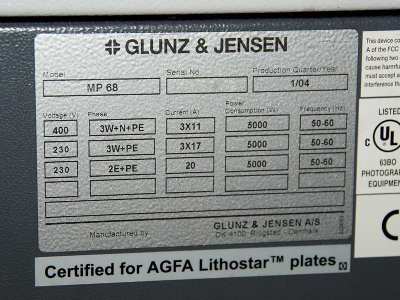 Glunz & Jensen Raptor PRO 68 S