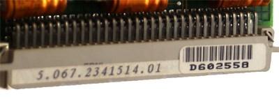 Platine D602558