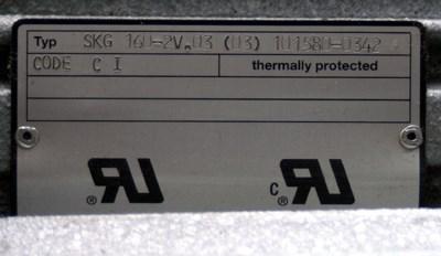 Kompressor für Linotype-Hell Herkules incl. Alu-Eingebaugehäuse