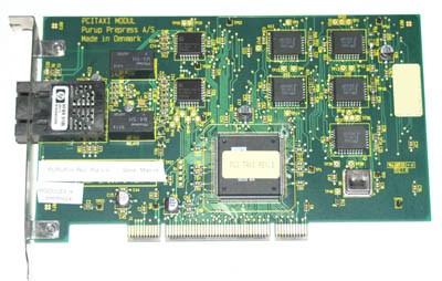 PCI Taxi Modul Purup Press LWL Netzwerkkarte
