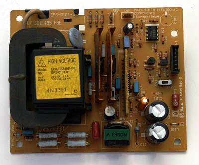 Xeikon Powersupply for the PCS, MCS and toproll wire