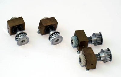 Xeikon DCP 32 Axle that drives the DVL-assy in the tower