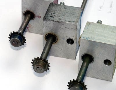 Xeikon DCP 32 Antriebsverbindung PUD Motor/ Toner