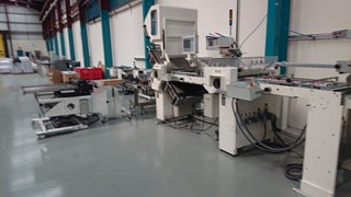 GUK FA 74 8 Z RT 52 Multi Mailing Folding Machine