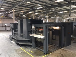 Heidelberg SM 102 2 P Two Colour Offset Press