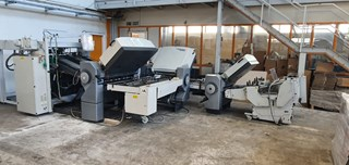 2007 Stahl PFH-82 Fully Automatic Folding Machine