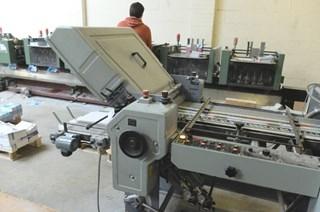 Stahl T52 -4/4K Folding Machine