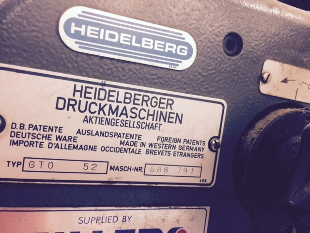 Heidelberg GTO 52 + Single Colour Offset Press