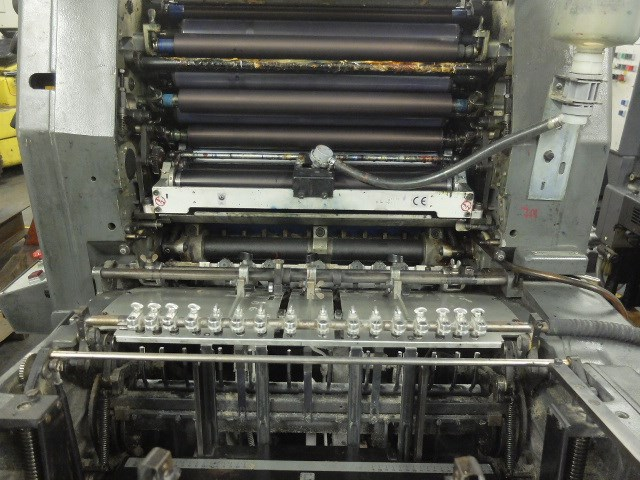 Heidelberg GTO 52 Z + Two Colour Offset Press
