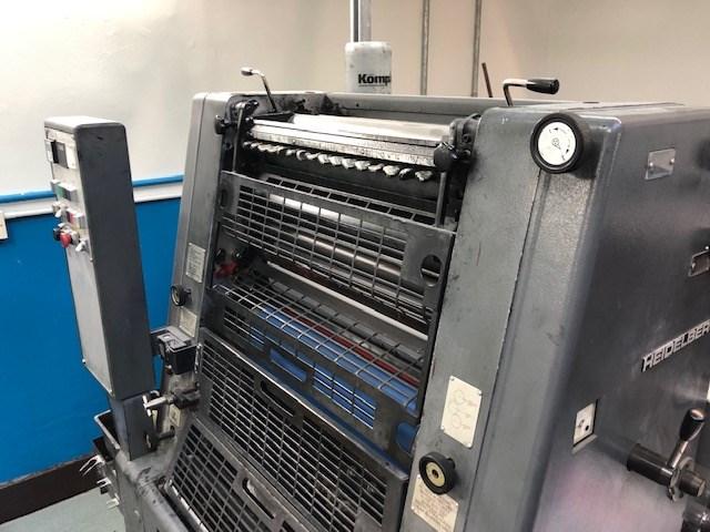 Heidelberg gto 52 single color press