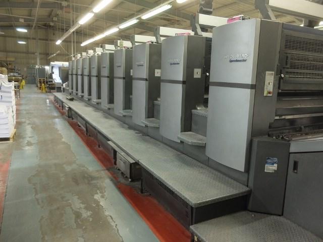 Heidelberg SM 102-10 P6 Ten Colour Offset Press