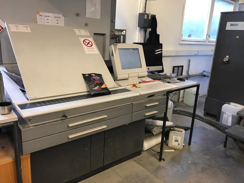 Heidelberg SM 74 5 +  L Five Colour Offset Press