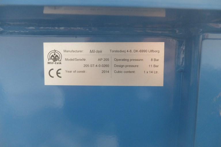 Miltek AP205 Compacktor