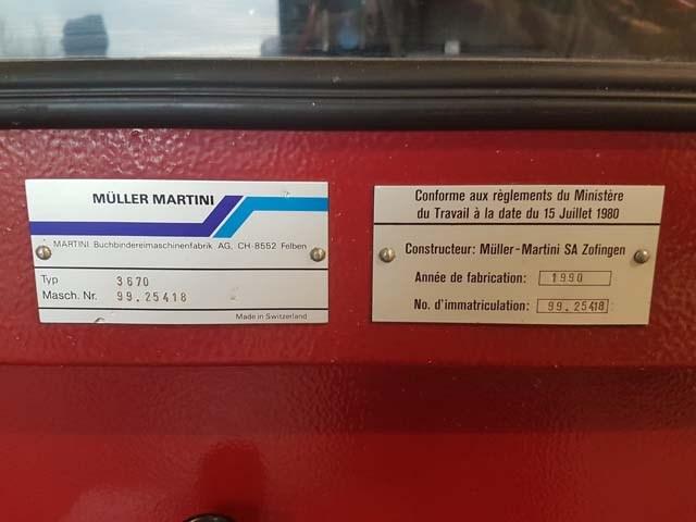 Muller Martini Three Knife Trimmer