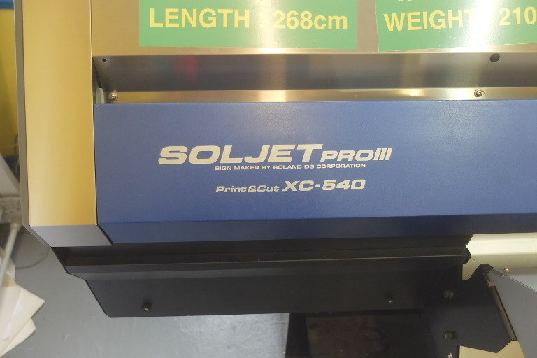 ManRoland Sol Jet iii XC 540 Print & Cut