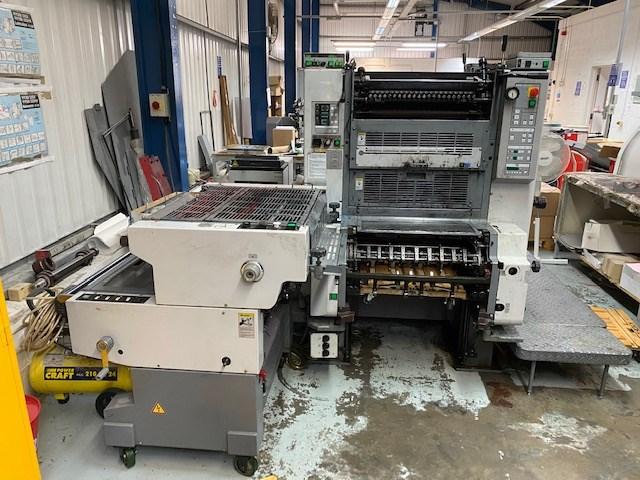 Ryobi 522 HXX Two Colour Offset Press