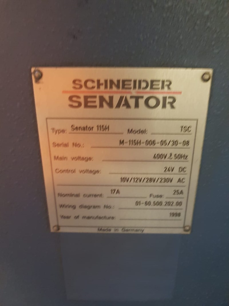 Schneider Senator 115H Programmatic Guillotine
