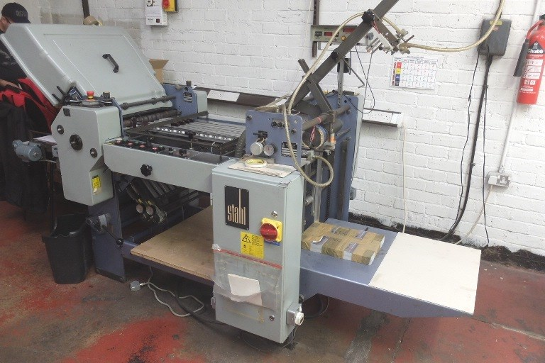 Stahl T52 4/4 Fully Automatic Folding Machine