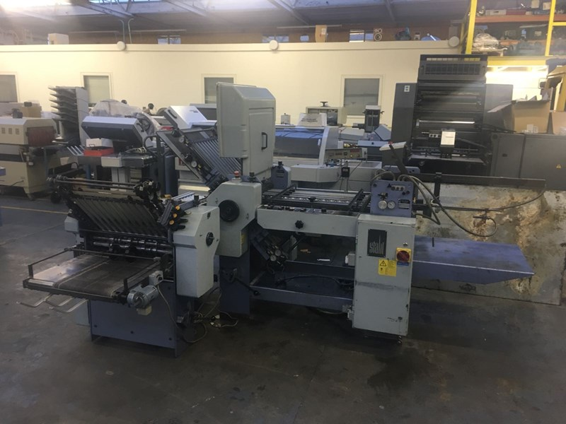 Stahl T50 4/4 Fully Automatic Folding Machine