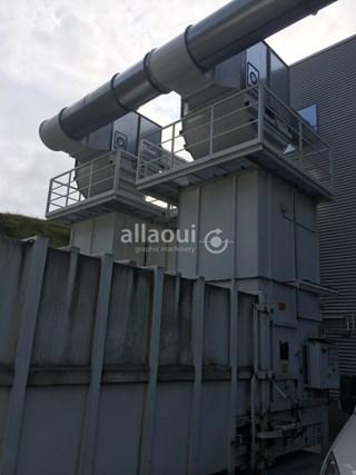 Krämer Lufttechnik Paper waste press / Papierabsauganlage