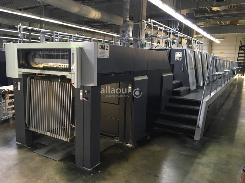Show details for Heidelberg Speedmaster XL 106 8P