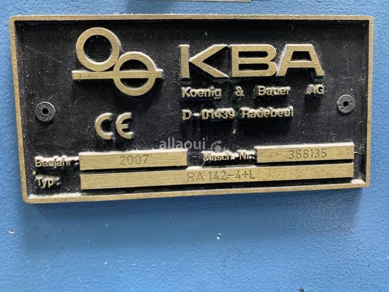 KBA RA 142-4+L FAPC
