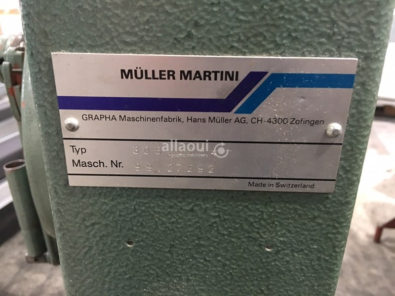 Müller Martini 306.0054 Crane / Kran