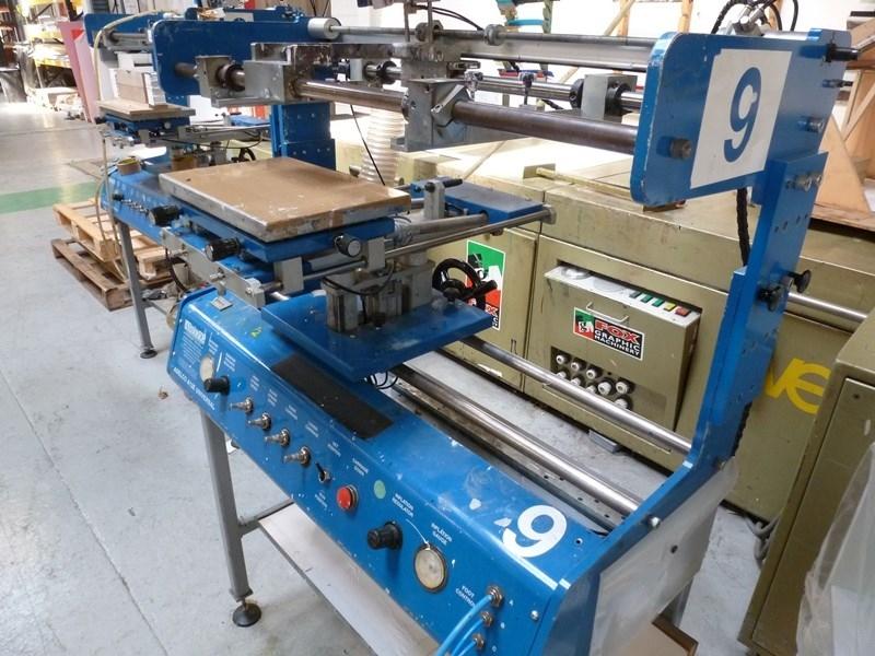 Adelco A12E Universal Screen Printer
