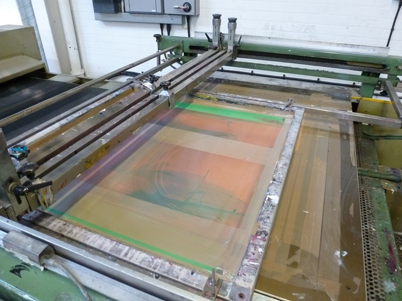 Svecia Matic SM Screenprinter