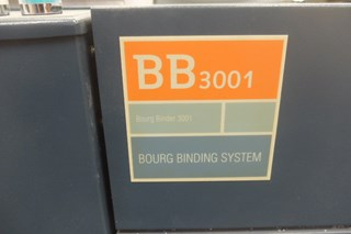 Bourg BB3301 Perfect Binding Machine   Year 2001