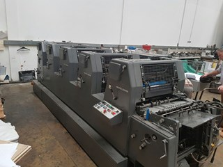 Heidelberg GTO 52 FP 5 Colour 1990