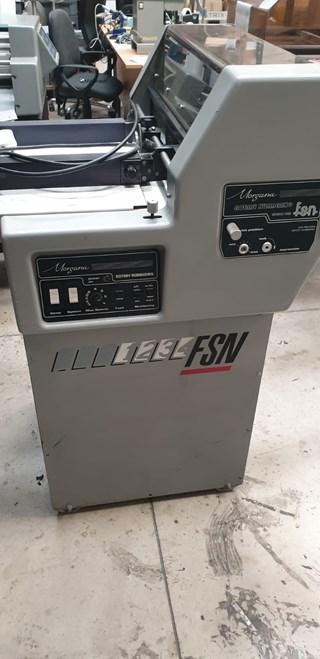 Morgana FSN numbering machine