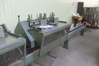 Muller Martini 1509 Gatherer Stitcher Trimmer Year 1980
