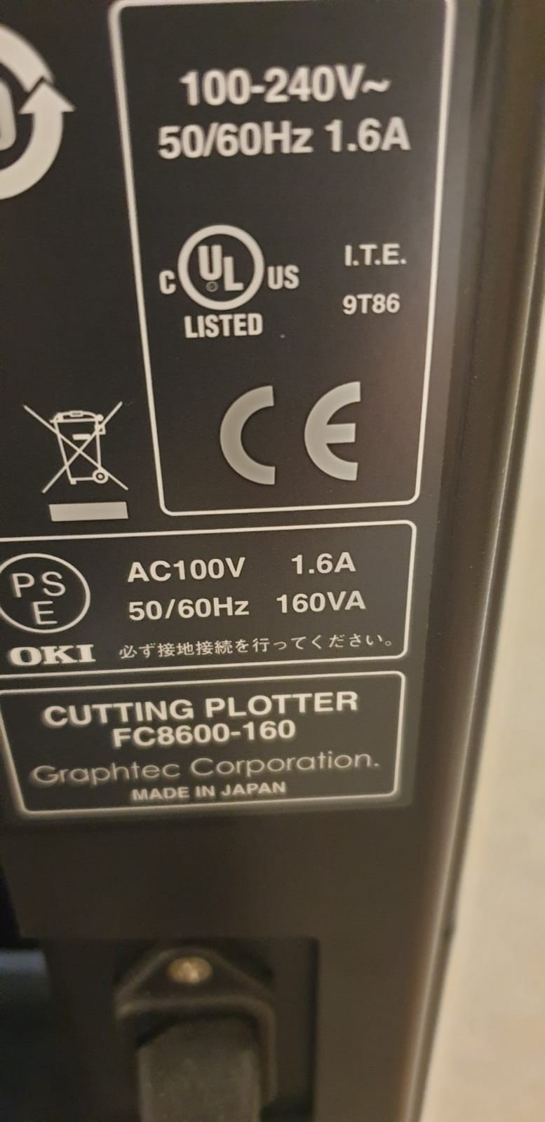 FC8600 SERIES CUTTING PLOTTER
