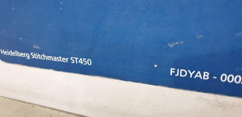 Heidelberg Stitchmaster ST 450