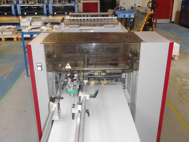 Used Petratto Batfold Folding Creasing Machine Year 2015