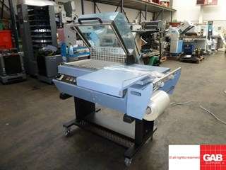 Debipack 4255 shrink wrap machine