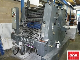 Heidelberg GTO 52-Z two colour