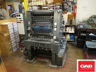 Heidelberg GTO 52 single colour offset