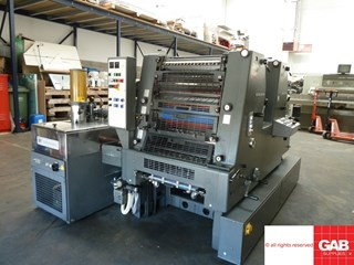 Heidelberg GTO ZP 52 two colour offset