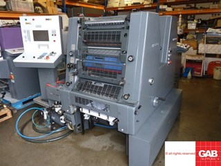 Heidelberg GTOZ-S 52 two colour offset