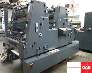Heidelberg GTO ZP 52 two colour offset for sale