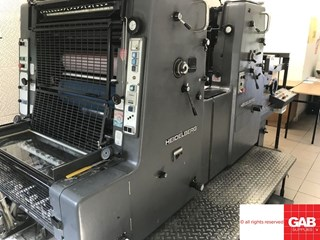 Heidelberg MOZP-S two colour offset